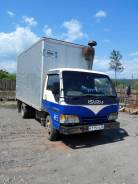 Isuzu Elf. Продаю грузовик (фургон) 1995 год isuzu elf, 4 600куб. см., 3 000кг.