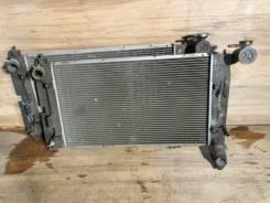 Радиатор охлаждения двигателя. Toyota Corolla, NZE124, ZZE122