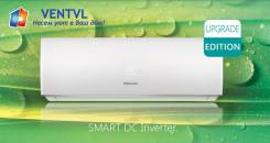 Кондиционер Hisense Smart DC Inverter AS-09UR, Инвертор на 25м2, 2018г
