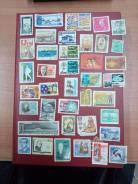 Лот марок 5 разных стран Аукцион с Рубля!