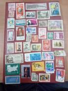 Лот марок 6 разных стран Аукцион с Рубля!