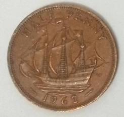 Пол пенни 1962г., флот, Великобритания