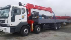 Daewoo Novus. 19 тонн c КМУ Z-ton 1205 (12тонн) - 2018год, 10 964куб. см., 19 000кг., 8x4