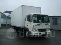 Hyundai HD120. HD-120 + фургон сэндвич, 80 мм (7,4х2,6х2,5) ЦТТМ, 5 600куб. см., 7 000кг.