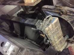 Радиатор охлаждения двигателя. Камаз 5490 Mercedes-Benz Axor