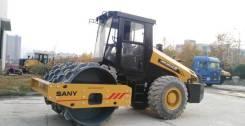 Sany. Каток дорожный вибрационный SANY SSR120C-6 полный привод, 4 500куб. см. Под заказ