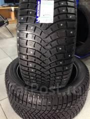 Michelin Latitude X-Ice North 2+. Зимние, шипованные, 2017 год, без износа, 4 шт