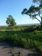 Земельный участок в удобном месте с красивом видом. 1 500кв.м., собственность, электричество