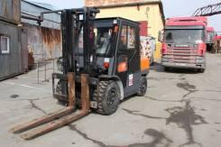 TEU FD50T. Вилочный автопогрузчик FD50 г/п 5 тонн, 5 000кг., Дизельный