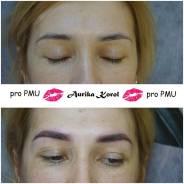 Перманентный макияж(татуаж), коррекция формы бровей.