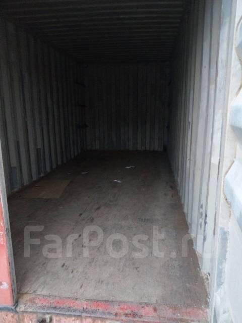 Сдам 20 футовый контейнер на охраняемой стоянке в Лен. районе. Вид изнутри