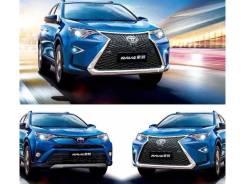 Обвес кузова аэродинамический. Toyota RAV4, ALA49L, ASA42, ASA42W, ASA44, ASA44L, ZSA42L, ZSA44L, ALA40, ALA49, ZSA42, ZSA44 Двигатели: 2ADFTV, 3ZRFE...