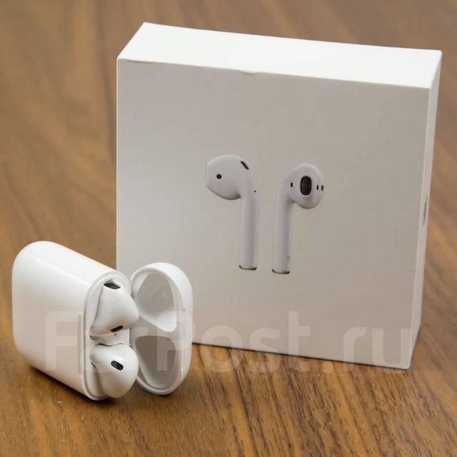 лучшая копия наушников Apple Airpods первая речка Istyle