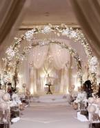 Услуги по оформлению, изготовлению свадебной арки