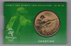 Огромные 5 долларов - Австралия - 2000 (1999) Олимпиада - Стрельба UNC