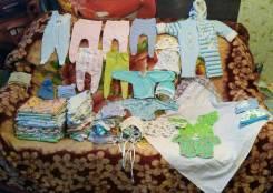 Продам детские вещи от 0 за 1000. Рост: 50-56, 56-62, 62-68, 68-74, 74-80 см