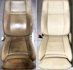Профессиональная реставрация кожаных сидений, рулей, ручек КПП Дорого!