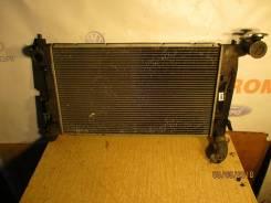 Радиатор охлаждения двигателя. Toyota Corolla, ZZE122