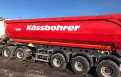 Kassbohrer. Сцепка тягач седельный МАЗ 6430В9 и полуприцеп самосвал DL