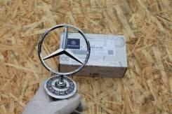 Эмблема. Mercedes-Benz S-Class, V140, W140 Двигатели: M104, M119, M120, OM603A, OM606D30LA