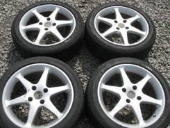 """Комплект колес литье Kosei Япония R17 + Dunlop 215/45 2017 г. в.!. 7.0x17"""" 4x114.30 ET38 ЦО 70,0мм."""