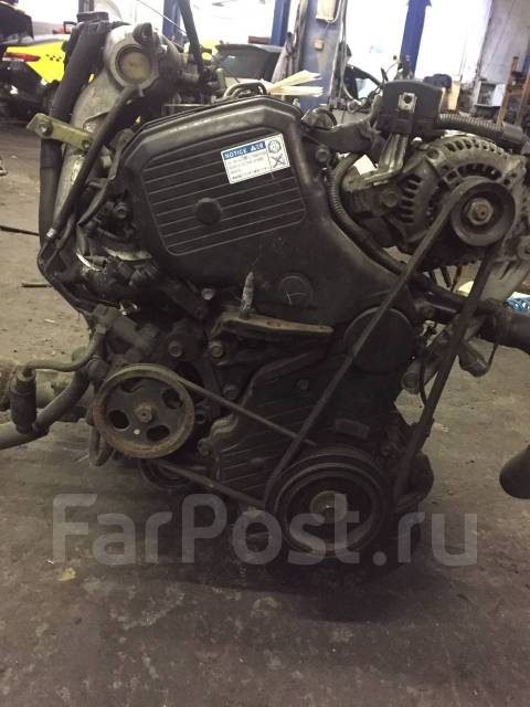 Двигатель в сборе. Toyota RAV4 Двигатель 3SFE