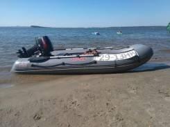 Лодка пвх Сапсан-340 и Tohatsu 18. 2013 год год, длина 2,40м., двигатель подвесной, 18,00л.с., бензин