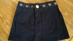 Юбки джинсовые. Рост: 80-86, 86-92 см