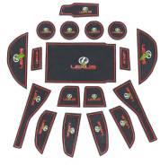 Накладки на коврики. Lexus: ES330, ES300h, ES200, ES250, ES350, ES300. Под заказ