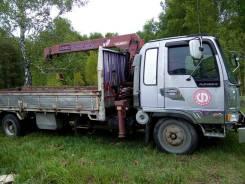 Hino Ranger. Продается грузовик с манипулятором, 7 412куб. см., 5 000кг., 8м.