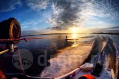 Аренда катера, активный отдых на воде, рыбалка. 5 человек, 60км/ч