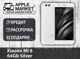 Xiaomi Mi6. Новый, 64 Гб, Серебристый, 3G, 4G LTE. Под заказ