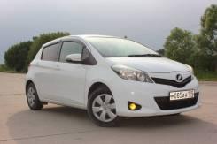 Toyota Vitz. вариатор, передний, 1.3 (95л.с.), бензин, 100тыс. км