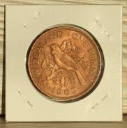 Новая Зеландия 1 пенни 1963 год
