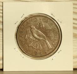 Новая Зеландия 1 пенни 1946 год