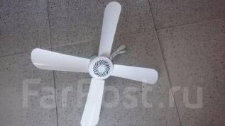 Вентиляторы потолочные.