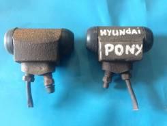 Цилиндр рабочий тормозной. Hyundai Excel Hyundai Accent Hyundai Porter Hyundai Pony