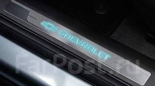 Накладки на пороги. Chevrolet Cruze Двигатели: LDD, LDE, LFH, LHD, LKR, LLW, LNP, LUD, LUJ, LVM, LXT, LXV