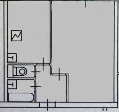 1-комнатная, проспект Волгоградский 1 стр. 1. Таганский, частное лицо, 26кв.м.