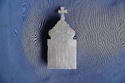 """Старинная серебряная Дароносица. Мастерская """"ИА"""". Москва, 1877 год. Оригинал"""