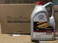 Toyota. Вязкость 5W-40