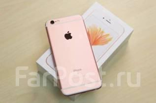 Apple iPhone 6s. Б/у, 64 Гб, Золотой, Розовый