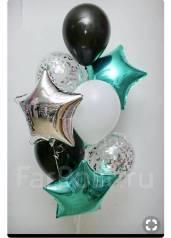 Воздушные шары и гелевые шарики