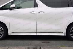 Накладка на дверь. Toyota Vellfire Toyota Alphard, AGH30, AGH30W, AYH30, AYH30W, GGH30, GGH30W