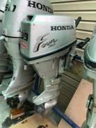 Honda. 9,90л.с., 4-тактный, бензиновый, нога S (381 мм), 2008 год год