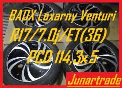 Комплект качественных литых дисков Диски Loxarny Venturi R17 б/п по РФ