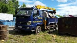 Foton. Продам бортовой грузовик с крановой установкой, 4 500куб. см., 6 000кг.