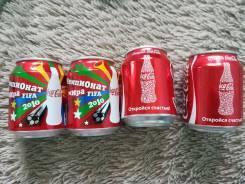 Отдам редкие баночки от Кока-колы