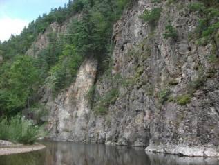 Река Милоградовка, водопад Поднебесный. 28-29 ИЮЛЯ.