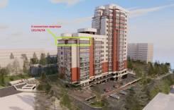 3-комнатная, улица Комсомольская 85. Центральный, агентство, 104кв.м.